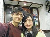 2008.12.20@LUCCA義風廚房:店門口合拍