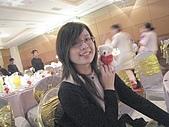 """2008.11.29漢神巨蛋宴會廳(NEW):婚宴中每個人的餐桌前都有一隻婚禮小熊耶,好貼心>""""<"""
