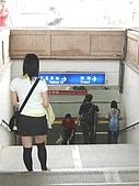2005.10.8【外拍】思念:走向台南車站月台