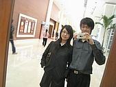 2008.11.29漢神巨蛋宴會廳(NEW):電梯旁的鏡子自拍