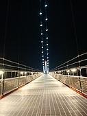 最長的自行車吊橋:夜景