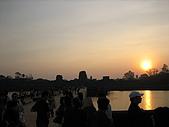 吳哥窟之旅:小吳哥城外的日出