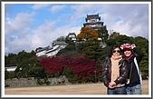 姬路城and大阪梅田:可惜它常常會被雲遮住