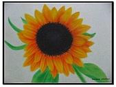 我的粉彩作品:200510 向日葵