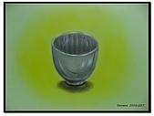 我的粉彩作品:20041227 鋼杯