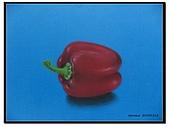 我的粉彩作品:20050314 紅椒