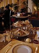 08年和老姐遊香港I:下午茶上桌囉!