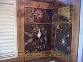 ◤空間の品味寫真:96.12.09 東山咖啡大鋤花間 廁內手工壁飾