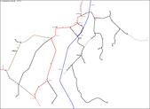 糖業鐵道地圖:大林糖廠鐵道分佈略圖