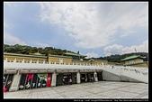 台北市士林區故宮博物院旁的『至善園』遊客稀少時常見藍鵲來戲水:故宮至善園07.jpg