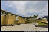 台北市士林區故宮博物院旁的『至善園』遊客稀少時常見藍鵲來戲水:故宮至善園10.jpg