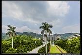 台北市士林區故宮博物院旁的『至善園』遊客稀少時常見藍鵲來戲水:故宮至善園05.jpg