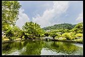 台北市士林區故宮博物院旁的『至善園』遊客稀少時常見藍鵲來戲水:故宮至善園19.jpg
