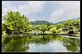 台北市士林區故宮博物院旁的『至善園』遊客稀少時常見藍鵲來戲水:故宮至善園18.jpg
