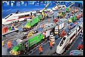 新敗入LEGO  7898無線遙控超大貨櫃火車組 記錄:LEGO 7898 1