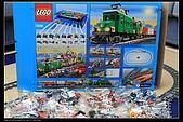 新敗入LEGO  7898無線遙控超大貨櫃火車組 記錄:LEGO 7898 4