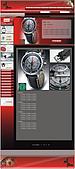 網版設計:手錶購物站‧產品說明頁(2)