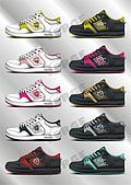 繪圖平面設計:VISOGE NO.10 鞋型款式