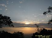 迷人夜景:崁頭山的落日黃昏     IMG_7166