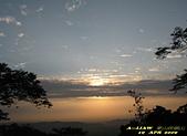 迷人夜景:崁頭山的落日黃昏     IMG_7165