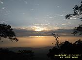 迷人夜景:崁頭山的落日黃昏     IMG_7164