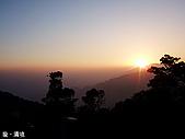 中橫之旅:清境夕陽