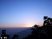 中橫之旅:清境夕陽-1