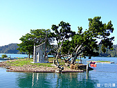 中橫之旅:日月潭中間的小小島