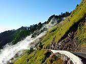 中橫之旅:合歡山附近的道路