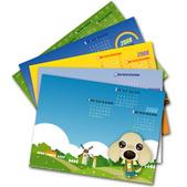 臘腸插畫商品:2008電子桌布月曆