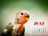 2012 小鸚月曆桌面:04-白紙